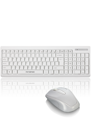 G1000 Silent mute keyboard mouse combo