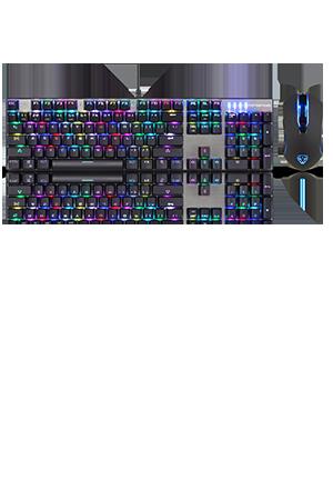 Original Motospeed CK888 NKRO Blue Switch 104Key Mechanical Gaming Keyboard /& Mo