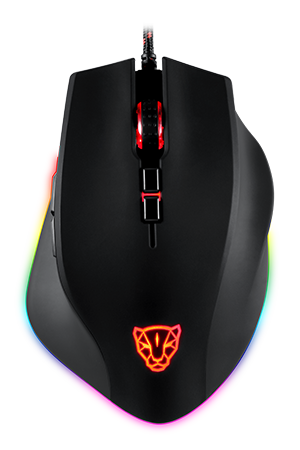 V80 RGB Backlight Gaming Mouse