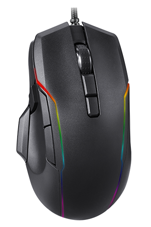 V90 RGB Backlight Gaming Mouse